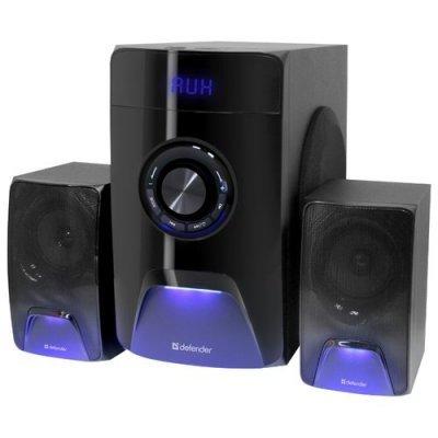 Компьютерная акустика Defender X500 чёрный (65526) колонки defender blaze 30 2x5 20 вт серебристый 65026