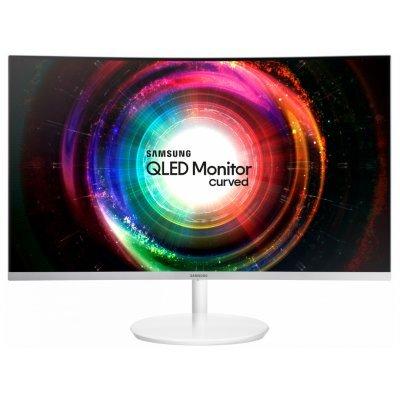 Монитор Samsung 31.5 LC32H711QEI (LC32H711QEIXCI)Мониторы Samsung<br>Монитор Samsung 31.5 C32H711QEI белый VA LED 4ms 16:9 HDMI матовая 3000:1 300cd 178гр/178гр 2560x1440 DisplayPort QHD 6.8кг<br>