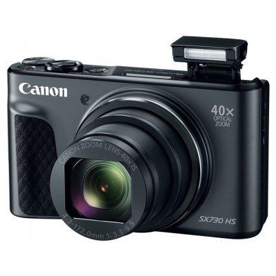 Цифровая фотокамера Canon PowerShot SX730HS черный (1791C002) фотоаппарат canon powershot sx730 hs 20 3mp 40xzoom черный 1791c002