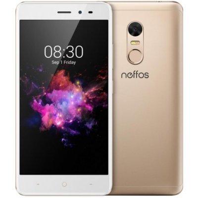 Смартфон TP-link Neffos X1 Lite LTE 2/16Gb Gold (Золотой) (Neffos X1 Lite золотой) для tp link neffos y5 дело тпу дело lovphone тпу телефон дело прикрыть tp связь neffos y5