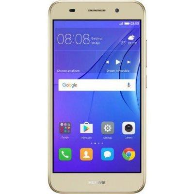 Смартфон Huawei Y3 2017 золотой (51050NCY) смартфон huawei y6 pro золотой