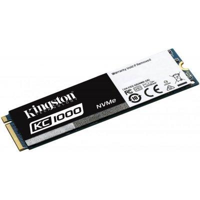 Накопитель SSD Kingston SKC1000/480G 480Gb (SKC1000/480G) накопитель ssd kingston sms200s3 480g sms200s3 480g