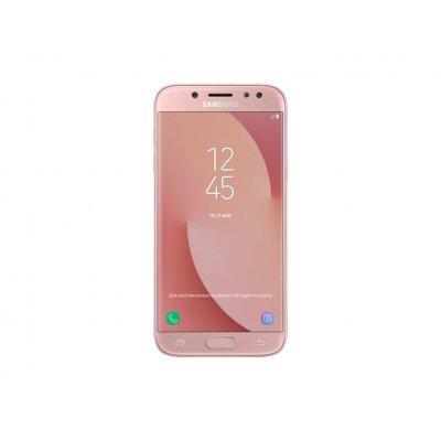 Смартфон Samsung Galaxy J5 (2017) (SM-J530FZ) розовый (SM-J530FZINSER) смартфон samsung galaxy j5 2016 белый sm j510fzwuser