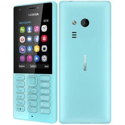 Мобильный телефон Nokia 216 DS голубой (A00027787) мобильный телефон nokia 6700s 3g