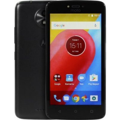 Смартфон Motorola MOTO C (XT1750) 8Gb Черный (PA6J0030RU)
