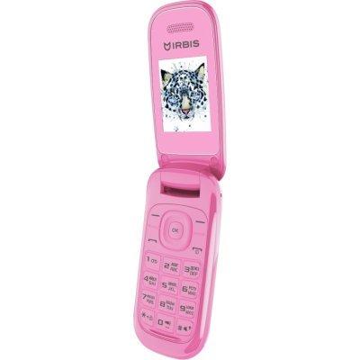 Мобильный телефон Irbis SF07 розовый (SF07P) мобильный телефон irbis sf61 черный