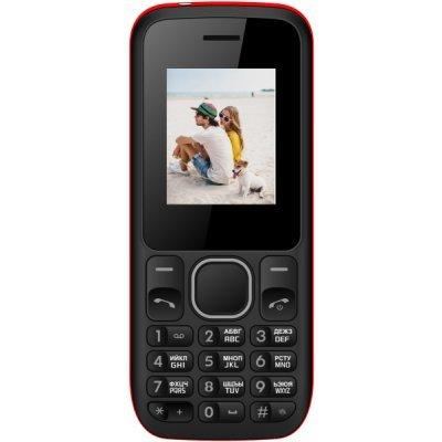 Мобильный телефон Irbis SF02 черный/красный (SF02R) мобильные телефоны irbis мобильный телефон sf02 black blue
