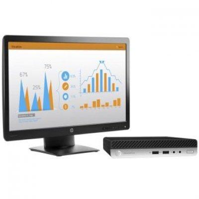 Настольный ПК HP Bundle ProDesk 400 G3 Mini (2MS60EA) (2MS60EA) настольный пк hp prodesk 400 g3 mini 1ex83ea 1ex83ea