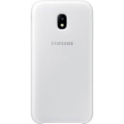Чехол для смартфона Samsung Galaxy J3 (2017) Dual Layer Cover белый (EF-PJ330CWEGRU) (EF-PJ330CWEGRU) чехол клип кейс samsung protective standing cover great для samsung galaxy note 8 темно синий [ef rn950cnegru]