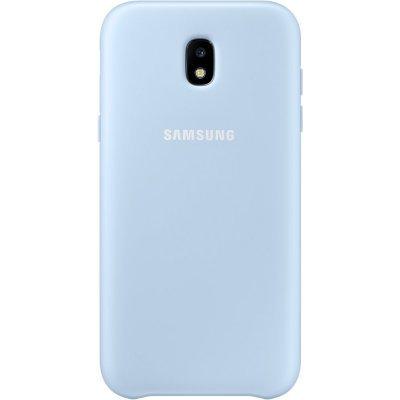 Чехол для смартфона Samsung Galaxy J3 (2017) Dual Layer Cover голубой (EF-PJ330CLEGRU) (EF-PJ330CLEGRU) чехол клип кейс samsung protective standing cover great для samsung galaxy note 8 темно синий [ef rn950cnegru]