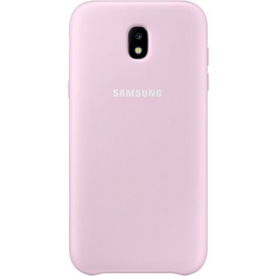 Чехол для смартфона Samsung Galaxy J3 (2017) Dual Layer Cover розовый (EF-PJ330CPEGRU) (EF-PJ330CPEGRU) клип кейс samsung silicone cover для galaxy s8 зеленый