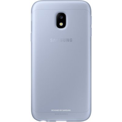 Чехол для смартфона Samsung Galaxy J3 (2017) Jelly Cover голубой (EF-AJ330TLEGRU) (EF-AJ330TLEGRU) чехол клип кейс samsung protective standing cover great для samsung galaxy note 8 темно синий [ef rn950cnegru]
