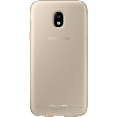 Чехол для смартфона Samsung Galaxy J3 (2017) Jelly Cover золотистый (EF-AJ330TFEGRU) (EF-AJ330TFEGRU) клип кейс samsung silicone cover для galaxy s8 зеленый