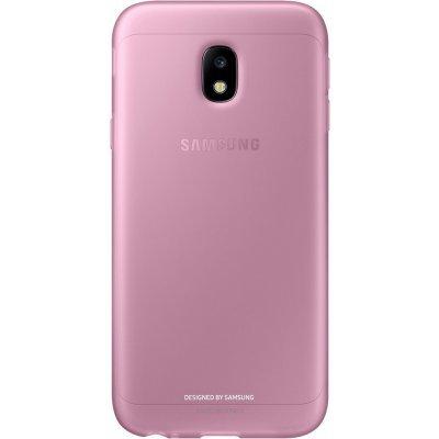 Чехол для смартфона Samsung Galaxy J3 (2017) Jelly Cover розовый (EF-AJ330TPEGRU) (EF-AJ330TPEGRU) клип кейс samsung silicone cover для galaxy s8 зеленый