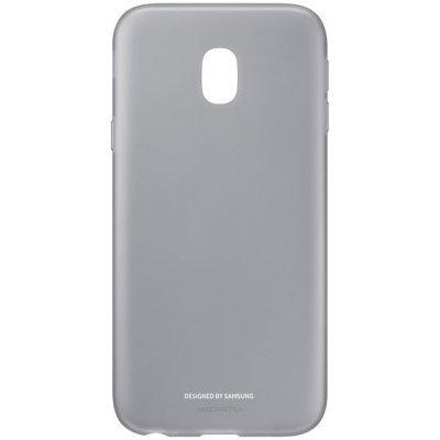 Чехол для смартфона Samsung Galaxy J3 (2017) Jelly Cover черный (EF-AJ330TBEGRU) (EF-AJ330TBEGRU) чехол клип кейс samsung protective standing cover great для samsung galaxy note 8 темно синий [ef rn950cnegru]