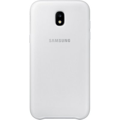 Чехол для смартфона Samsung Galaxy J5 (2017) Dual Layer Cover белый (EF-PJ530CWEGRU) (EF-PJ530CWEGRU) чехол клип кейс samsung protective standing cover great для samsung galaxy note 8 темно синий [ef rn950cnegru]