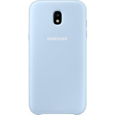 Чехол для смартфона Samsung Galaxy J5 (2017) Dual Layer Cover голубой (EF-PJ530CLEGRU) (EF-PJ530CLEGRU) чехол клип кейс samsung protective standing cover great для samsung galaxy note 8 темно синий [ef rn950cnegru]