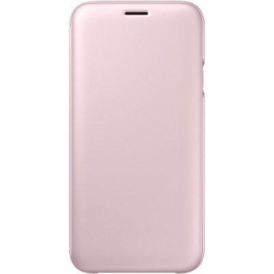 Чехол для смартфона Samsung Galaxy J7 (2017) Flip Wallet розовый (EF-WJ730CPEGRU) (EF-WJ730CPEGRU) чехол для смартфона samsung galaxy j7 2017 flip wallet розовый ef wj730cpegru ef wj730cpegru
