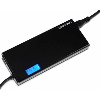 Адаптер питания для ноутбука Ippon SD90U автоматический 90W 15V-19.5V 10-connectors 1xUSB 2.1A (SD90U BLACK) цена и фото