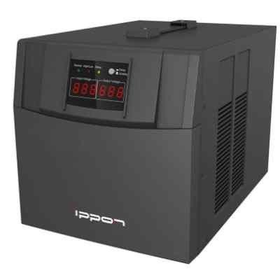 Стабилизатор напряжения Ippon AVR-3000 3000Вт (361015) стабилизатор ippon avr 3000