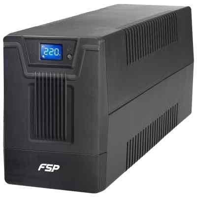 Источник бесперебойного питания FSP DPV 2000 2000VA/1200W LCD Display (6 IEC) (PPF12A1300) цена и фото