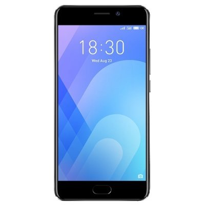Смартфон Meizu M6 Note 16Gb (M721H) Черный (M721H-16-S) смартфон meizu m5 note серебристый 5 5 32 гб lte wi fi gps 3g