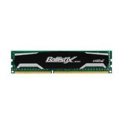 Модуль оперативной памяти ПК Crucial by Micron DDR3 2GB 1600MHz UDIMM (PC3-12800) CL11 1.5V (BLS2G3D1609DS1S00), арт: 270561 -  Модули оперативной памяти ПК Crucial
