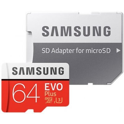 Карта памяти Samsung MicroSDXC 64GB EVO Plus (MB-MC64GA/RU) карта памяти other samsung evo 10 32 64 sd sdhc oem