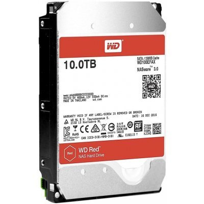 Жесткий диск ПК Western Digital 10000Gb HDD SATA-III Red for NAS WD100EFAX, IntelliPower, (WD100EFAX) жесткий диск пк western digital wd40ezrz 4tb wd40ezrz
