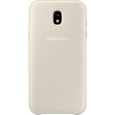 Чехол для смартфона Samsung Galaxy J5 (2017) Dual Layer Cover золотистый (EF-PJ530CFEGRU) (EF-PJ530CFEGRU) чехол клип кейс samsung protective standing cover great для samsung galaxy note 8 темно синий [ef rn950cnegru]