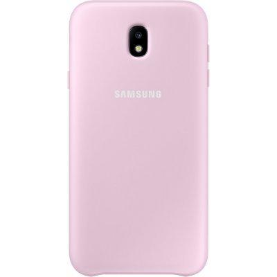 Чехол для смартфона Samsung Galaxy J7 (2017) Dual Layer Cover розовый (EF-PJ730CPEGRU) (EF-PJ730CPEGRU) чехол samsung ef pj530cpegru для samsung galaxy j5 2017 dual layer cover розовый