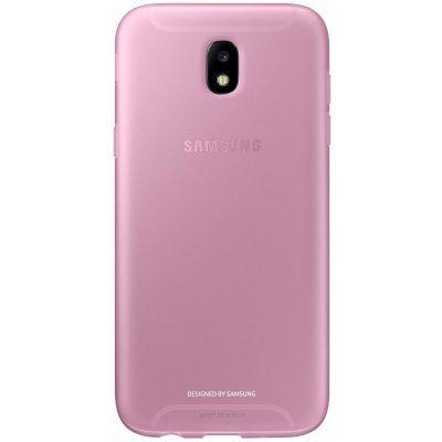 Чехол для смартфона Samsung Galaxy J7 (2017) Jelly Cover розовый (EF-AJ730TPEGRU) (EF-AJ730TPEGRU) чехол клип кейс samsung silicone cover для samsung galaxy s8 фиолетовый [ef pg955tvegru]