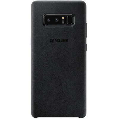 Чехол для смартфона Samsung Galaxy Note 8 Alcantara Cover Great черный (EF-XN950ABEGRU) (EF-XN950ABEGRU) чехол клип кейс samsung alcantara cover great для samsung galaxy note 8 хаки [ef xn950akegru]