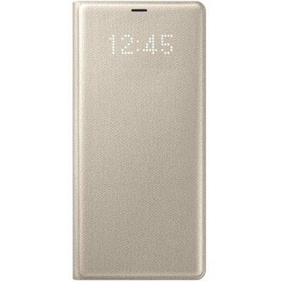 Чехол для смартфона Samsung Galaxy Note 8 LED View Cover золотистый (EF-NN950PFEGRU) (EF-NN950PFEGRU) чехол для смартфона samsung galaxy note 8 clear cover great темно синий ef qn950cnegru ef qn950cnegru
