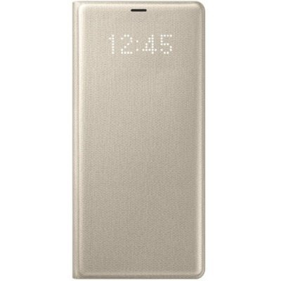 все цены на  Чехол для смартфона Samsung Galaxy Note 8 LED View Cover золотистый (EF-NN950PFEGRU) (EF-NN950PFEGRU)  онлайн