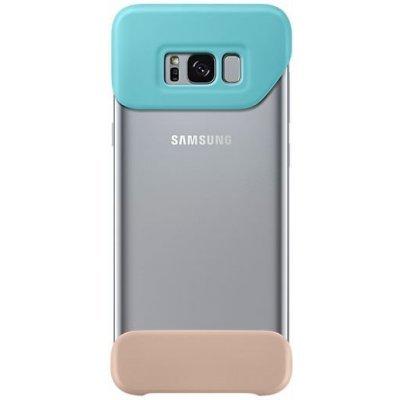 Чехол для смартфона Samsung Galaxy S8+ 2Piece Cover зеленый/коричневый (EF-MG955CMEGRU) (EF-MG955CMEGRU) чехол клип кейс samsung protective standing cover great для samsung galaxy note 8 темно синий [ef rn950cnegru]