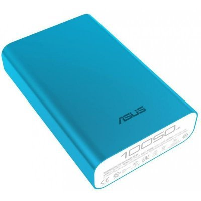 Внешний аккумулятор для портативных устройств ASUS ZenPower ABTU011 Li-Ion 10050mAh голубой (90AC0180-BBT032), арт: 271178 -  Внешние аккумуляторы для портативных устройств ASUS