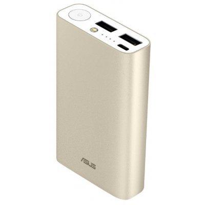 Внешний аккумулятор для портативных устройств ASUS ZenPower ABTU011 Li-Ion 10050mAh золотистый (90AC0180-BBT018), арт: 271179 -  Внешние аккумуляторы для портативных устройств ASUS