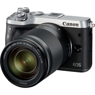 Цифровая фотокамера Canon EOS M6 18-150 IS STM серебристый (1725C022) цифровая фотокамера canon eos m10 15 45is stm white 0922c012