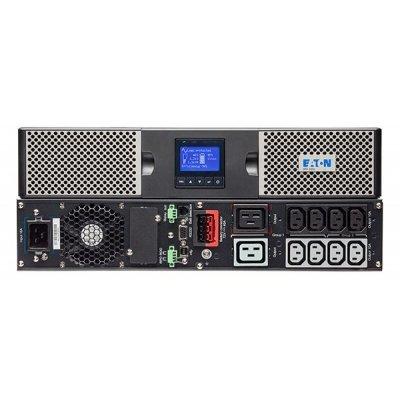 Источник бесперебойного питания Eaton Powerware Eaton 9PX 1000i RT2U 900Вт 1000ВА черный (9PX1000IRT2U) источник бесперебойного питания eaton powerware 5px 2200i rt2u 5px2200irt