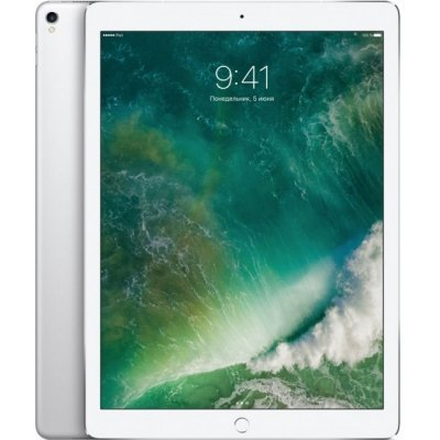 Планшетный ПК Apple iPad Pro 12.9 Wi-Fi 64GB (MQDC2RU/A) Silver (Серебристый) (MQDC2RU/A)