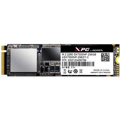 Накопитель SSD A-Data ADATA 256GB SX7000 m.2 XPG PCIe 2280 3D TLC (ASX7000NP-256GT-C) 3d принтер zmorph 2 0 sx