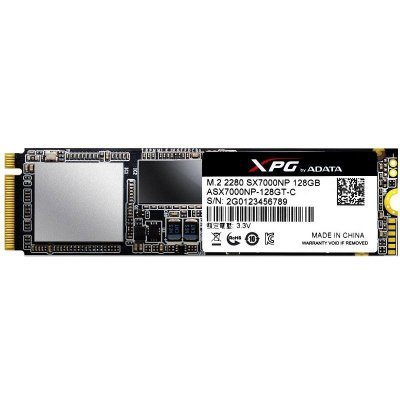 Накопитель SSD A-Data ADATA 128GB SX7000 m.2 XPG PCIe 2280 3D TLC (ASX7000NP-128GT-C) adata a data asp900s3 512gm c 512гб