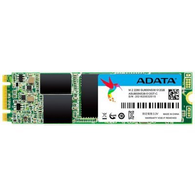 Накопитель SSD A-Data ADATA 512GB SU800 TLC M.2 SATAIII 3D NAND (ASU800NS38-512GT-C) накопитель ssd a data adata ultimate su800 512gb asu800ss 512gt c