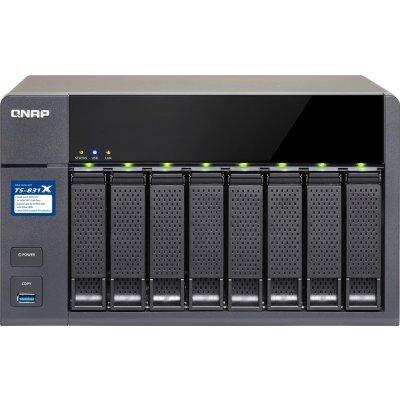 Сетевой накопитель NAS Qnap TS-831X-8G (TS-831X-8G) сетевой накопитель nas netgear rn42400 100nes rn42400 100nes