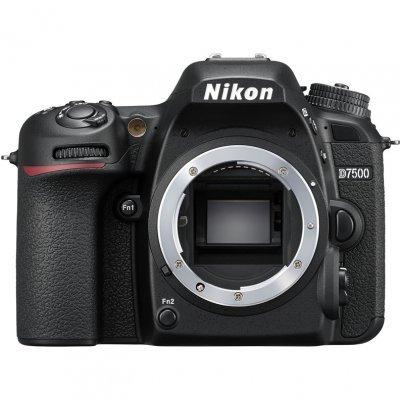 Цифровая фотокамера Nikon D7500 Body (VBA510AE) (VBA510AE) купить nikon d80 body петербург