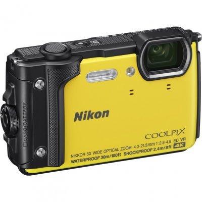 Цифровая фотокамера Nikon Coolpix W300 Yellow (VQA072E1) профессиональная цифровая slr камера nikon d3200 18 55mmvr