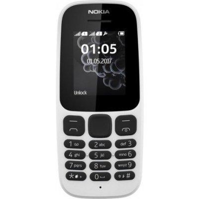 Мобильный телефон Nokia 105 DS (2017) белый (A00028316) стоимость