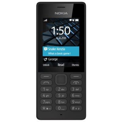 Мобильный телефон Nokia 150 Dual Sim RM-1190 Черный (A00027944) мобильный телефон nokia 216 dual sim rm 1187 голубой a00027787