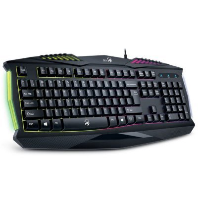 Клавиатура Genius Scorpion K220 USB черный (31310475102) c30 genius комбинированный станок